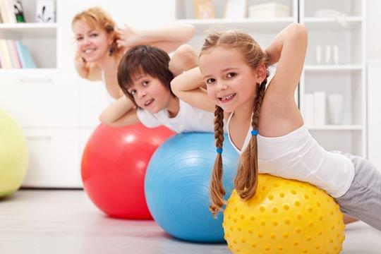 Фитнес и спорт в детском возрасте